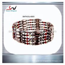 Hematita permanente de moda collar magnético