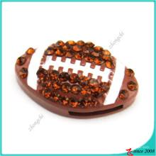 Encantos de venda quente do bracelete dos encantos da corrediça do futebol