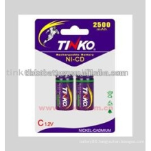 NI-CD C SIZE Rechargeable Battery