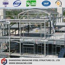 Edifício estrutural / construção construída pré-construída de aço pesado
