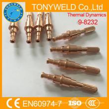 Dinámica térmica de la punta de corte de plasma 9-8232 electrodo de corte 120A
