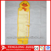 Baby growth duck plush height charts plush measuring charts