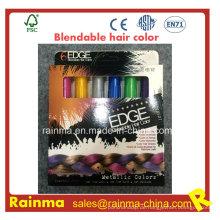 Ungiftige Haar-Farbclips mischbare Haar-Kreide