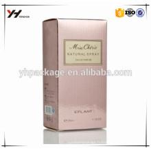Boîte à cadeau cosmétique personnalisée d'emballage d'uv de haute qualité