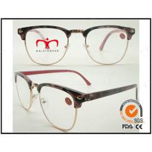Lunettes 2015 pour lunettes de lecture unisex demi-cadre à la mode (WRP505213)