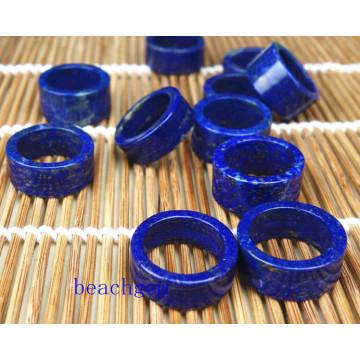 Bijoux naturels pièces Lapis anneaux
