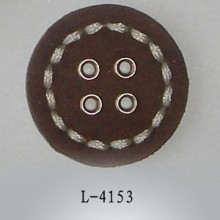 Tapiceria plana cuero botones cubiertos para chaquetas