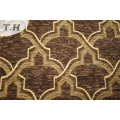 Gemotric Design Sofa Tapicería de tela Chenille Fabric