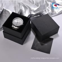 Chinese suppliers custom high end cardboard watch gift box With Sponge Cushion