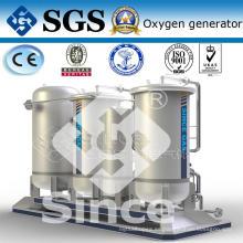Pequeño generador de gas de oxígeno (PO)