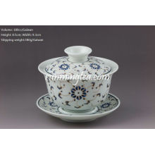 Golden Flower Porcelana Gaiwan-180cc / Gaiwan