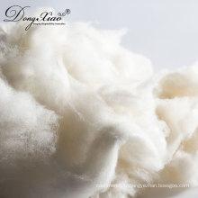 Nouvelle fibre de laine d'agneau de mouton peignée et récurée pour feutre et flocculus
