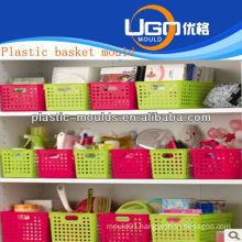 plastic shopping basket moulds maker injection basket mould in taizhou zhejiang china