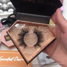 2017 best seller cheap mink fur false eyelash wholesale fake strip lash