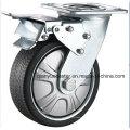 Сверхмощный серый полиуретановый пламенный поворотный колесик
