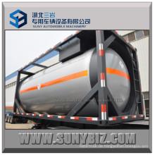 20FT 20m3 ASME Flüssig Petro Gas LPG Tankcontainer