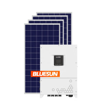 Complete unit grid tie solar system 10kw 20kw 30kw on grid 30kw solar system for home