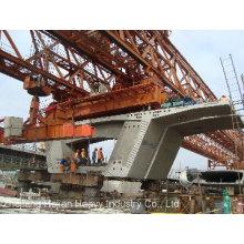 Pièces de béton séparées 240t-40m de la grue à portique de lancement de pont (JQ-03)
