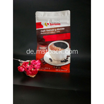 Designed Coffee Bag mit Ventil