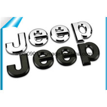 Customized 3D Adhesive ABS Plastic Chrome Automobile Emblem Car Logo Sticker Badge