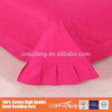 No PVA Eco-Friendly Oeko-Tex Standard 100 certificado Ropa de cama segura Juego de ropa de cama de algodón eco-cepillado