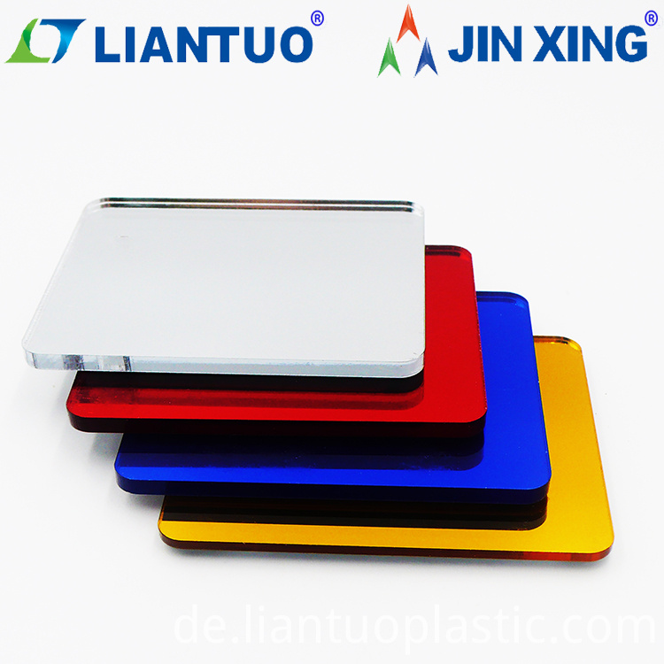 High Quality PMMA Acrylic Plastic Mirror Sheets