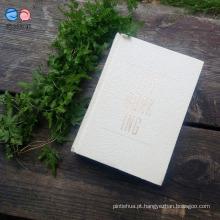 A mais nova capa de papel extravagante grava o notebook dos fabricantes (XL-J64176-C01)