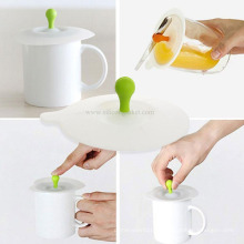 Design Anti-Staub Silikon Kaffeetasse Deckel Becher Deckel