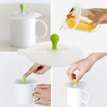 Diseño Tapa de taza de taza de café de silicona antipolvo