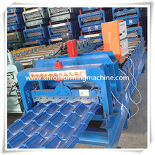 Chapas galvanizadas Panel de techo máquina formadora
