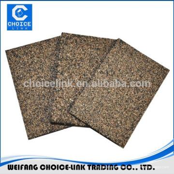 Caucho modificado para techos de asfalto