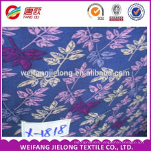 rayon fabric custom printed crepe fabric in bulk of stock shirting fabric