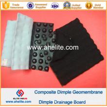 Geomembrana de Dimple HDPE para Inclinação