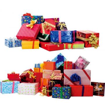 Caixa de papel de presente com logotipo do cliente para embalagem (SW207)