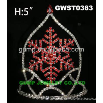 Schneeflocken Kronen und Tiaras