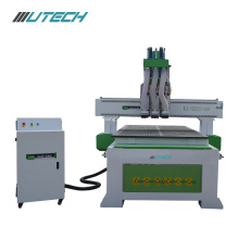 Three Processing Double-table Woodworking CNC Router