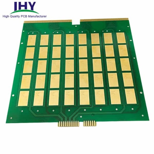 Double-sided Gold Finger With Electroplated Plugging-hole PCB