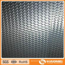 Aluminium en relief de diamant