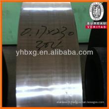 Bande en acier inoxydable 316L avec de bonne qualité (prix d'acier inoxydable 316L / kg)