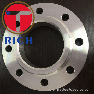 ASTM A105 Stainless Steel Slip pada flange