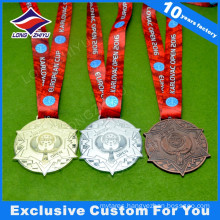 2015 High Performance Customized Gold Silver Bronze Medal