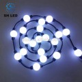 Boule lumineuse lumineuse 3D de lumière LED RVB