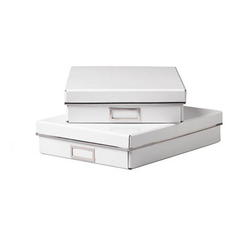 High End Matte White Paperboard Gift Packaging Box