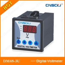 Three Phase LED AC Digital Voltmeter Dm48-3u-1