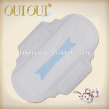 Nouvelles serviettes hygiéniques en forme de fleur pour femme