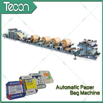 Автоматическая машина для производства бумажных мешков для мешков для клапанов