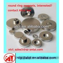Sintered Neodymium Round Magnet With Holes