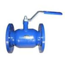 Válvula de esfera soldada com flange com alavanca API 6D