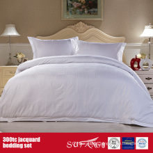 300TC Jacquard Wholesale Bedding Set Hotel Cotton Bedding Set