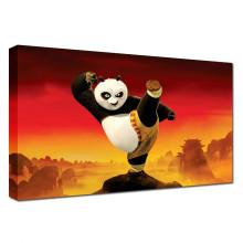 Peintures Panda Cartoon Movie Poster Art